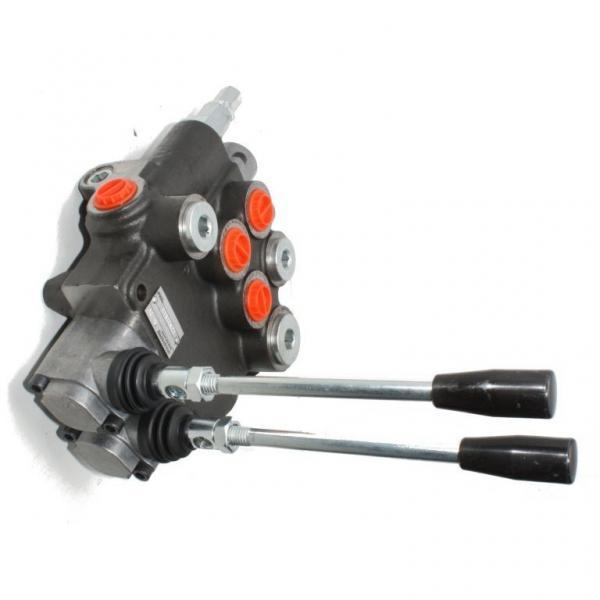6) Valve hydraulic Distributeur hydraulique REXROTH R900589988    4/3   24VCC #1 image