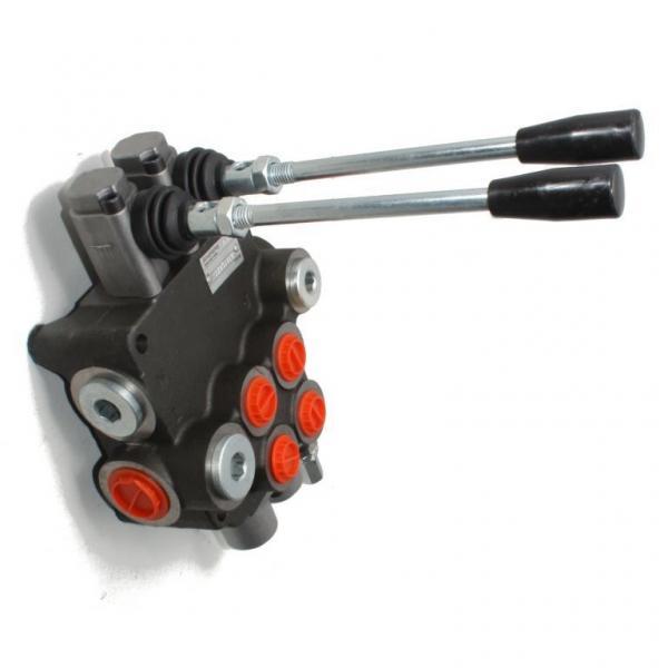 6) Valve hydraulic Distributeur hydraulique REXROTH R900589988    4/3   24VCC #3 image
