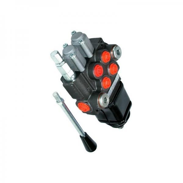 Distributeur hydraulique distributeur cetop5 NG10 315 bar 100L/min 4/2 12VDC HA #2 image