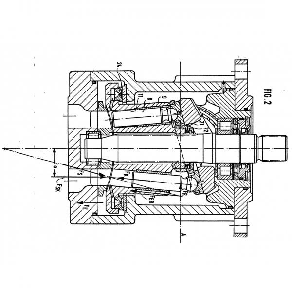 Rexroth Axial Piston Variable Pump, Open Circuit AAVSO71SO-43A-631 #1 image